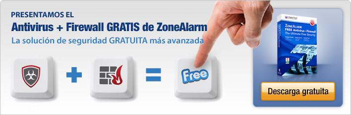 Presentamos el Antivirus + Firewall gratuito de ZoneAlarm La solución de seguridad GRATUITA más avanzada
