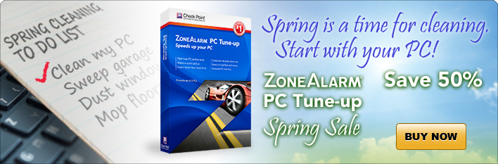ZoneAlarm PC Tune-up