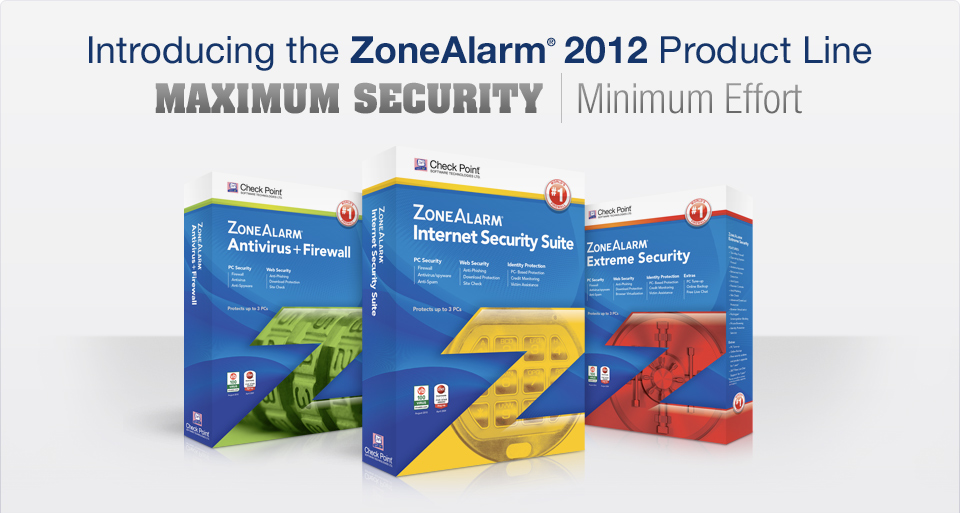 ZoneAlarm 2012 product line is now available for download ...