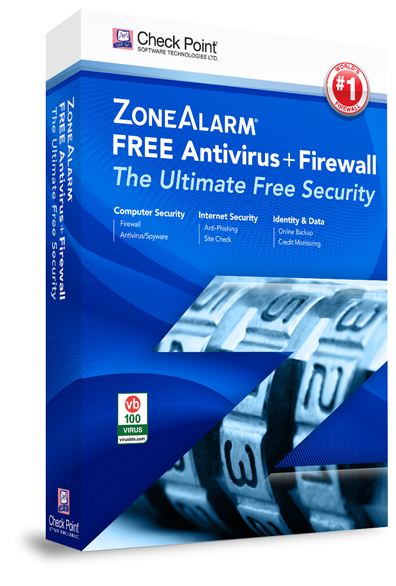 ZoneAlarm Antivirus Box Shot