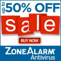 Up to 50% Off ZoneAlarm Antivirus Products